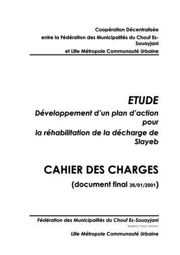 Coopération Décentralisée entre la Fédération des ... - Localiban