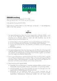 Verordnung abfuhr von Abf
