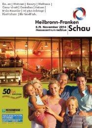 Informationsunterlagen - Heilbronn-Franken Schau