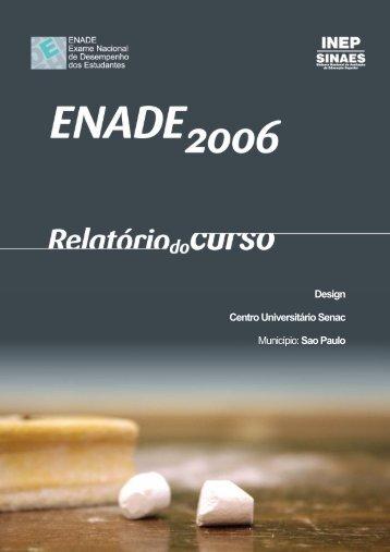 Design Centro Universitário Senac Município ... - Senac São Paulo