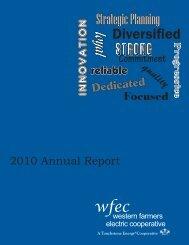 2010 WFEC Annual Report - Western Farmers Electric Cooperative