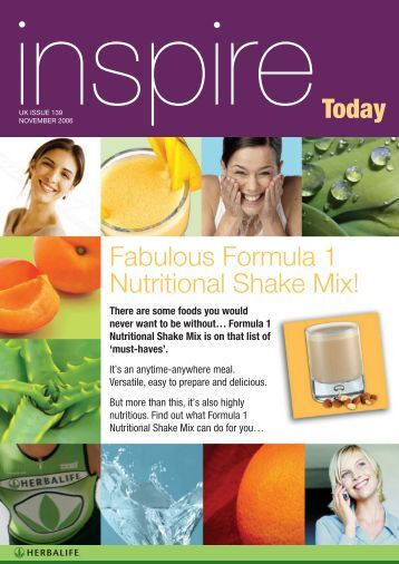 Today Fabulous Formula 1 Nutritional Shake Mix!