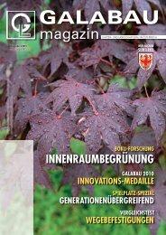 galabau magazin