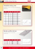 2 Profiles for design flooring - Repac - Page 3