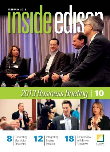 2013 Business Briefing 10 - Inside Edison - Edison International
