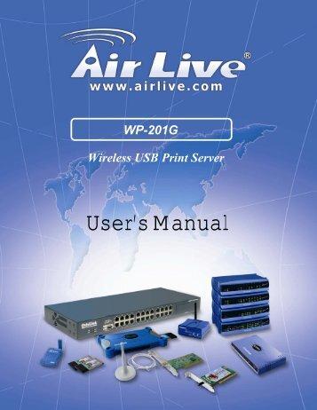 Print Server - kamery airlive airlivecam
