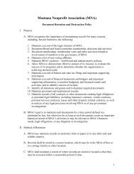 Sample Financial Management Policies And Procedures