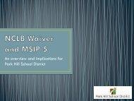 Grading Discussion - Topics - Park Hill School District