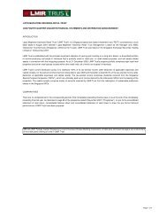 4Q Full Financial Report - Lippo Malls Indonesia Retail Trust ...
