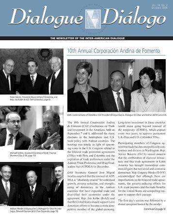 10th Annual Corporación Andina de Fomento - Inter-American ...