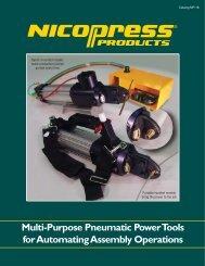 Multi-Purpose Pneumatic Power Tools for ... - Fabco-Air, Inc.