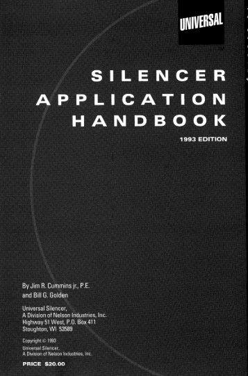Silencer Application Handbook - Universal: Acoustic Silencers
