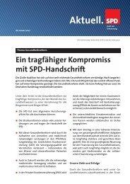 Aktuelle Informationen zur Gesundheitsreform - Rainer Arnold