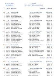 Series Final Liga Clubes 2009.rtf - Federación de Salvamento y ...