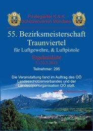 55. Bezirksmeisterschaft 2013 - Schuetzenverein Mondsee