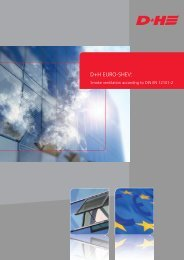 Smoke ventilation according to EN 12101-2 - D+H Mechatronic