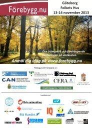 Förebygginbjudan 2013 pdfversion.pdf - Göteborg