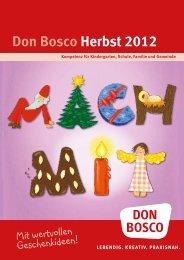 Don Bosco Herbst 2012 - Don Bosco Medien