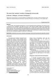 MINIREVIEW - Invertebrate Survival Journal