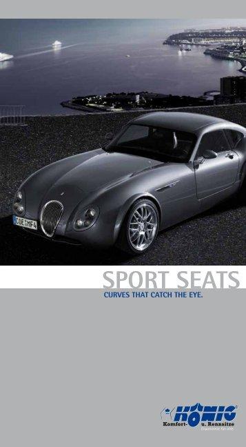 Prospect Sport seats