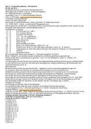 AQ + C -Turnier Buchenbach - Himmelreich 05.-08. Juli 2013 ...