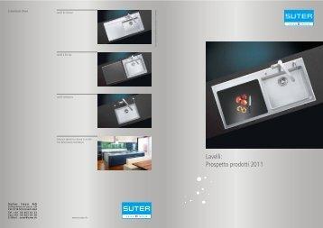 Lavelli: Prospetto prodotti 2011 - Suter