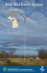 Small Wind Electric Systems: A Michigan ... - State of Michigan