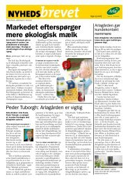Markedet efterspørger mere økologisk mælk - LandbrugsInfo