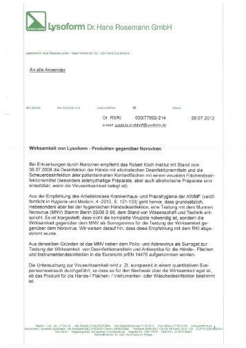 Downloadlink - Lysoform.ch