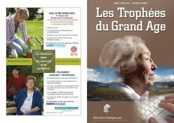 Le catalogue de l'édition 2010 - Les Trophées du Grand Age