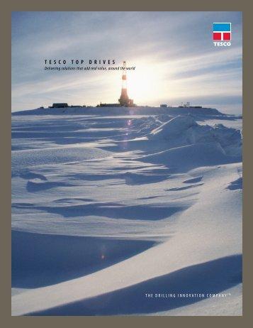 TESCO TOp drivES - TESCO Corporation