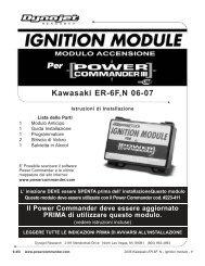 Kawasaki ER-6F,N 06-07 - Power Commander