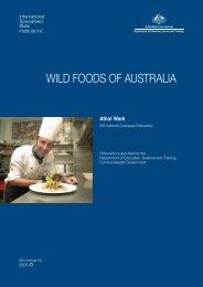 wild foods of australia - International Specialised Skills Institute