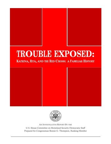 Trouble Exposed: Katrina, Rita, and the Red Cross - Committee on ...