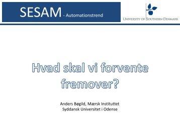 SESAM- Automationstrend - Sesam Danmark | SESAM World