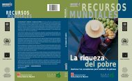 La riqueza del pobre - World Resources Institute
