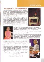 WERSI Artists - The Organ Forum