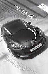 Zubehörprospekt Mazda 3 Facelift Typ BL - Autohaus Vollmari GmbH