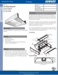 Spec Sheet - Howard Lighting