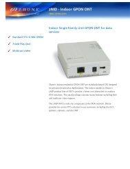 Download ZNID-GPON-2501 Datasheet