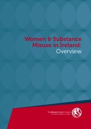 PDF (Women & substance misuse in Ireland: overview) - Drugs.ie