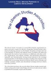 Program Brochure - Institute for African Development - Cornell ...