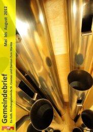 Download Gemeindebrief - Ev. luth. Marktgemeinde Goslar