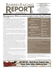 Montgomery Wins second straight Lucky Dog Futurity