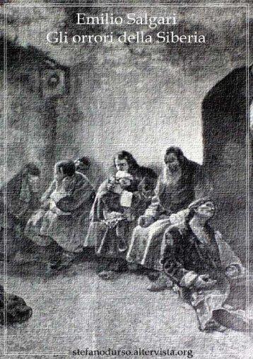 """""""Gli orrori della Siberia"""" di Emilio Salgari"""