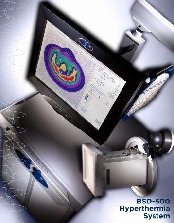 BSD-500 Product Brochure - BSD Medical Corporation