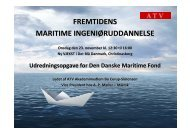 fremtidens maritime ingeniøruddannelse - Akademiet for de ...