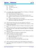 Quizz… Histoire p. 1 - Pass Education - Page 5