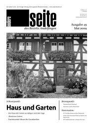 Haus und Garten - auf der anderen Seite