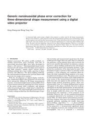 Generic nonsinusoidal phase error correction for three-dimensional ...